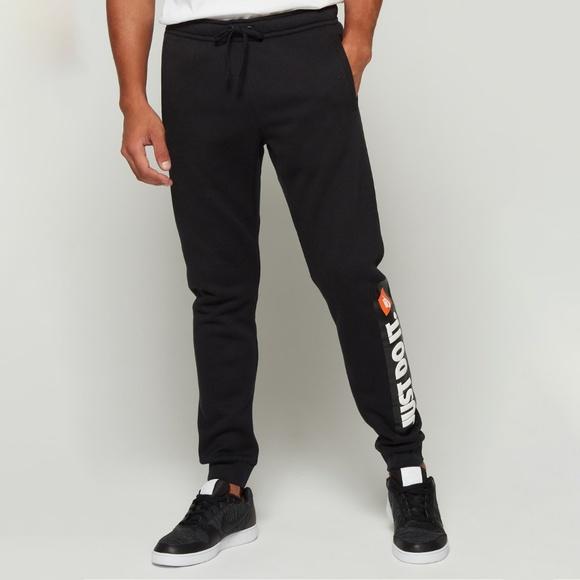 Nike Men's Just Do It Shoebox Fleece Jogger Pants